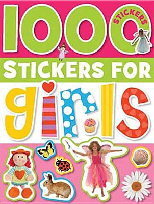 1000 Stickers for Girls By Cox, Katie (CRT)